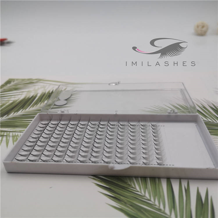 0.05 10D pre made fan lash extensions wholesale-V