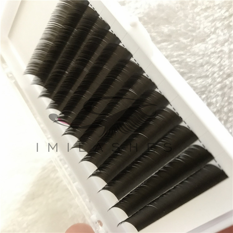 2019 Wholesale High Quality False Flat Eyelashes extension