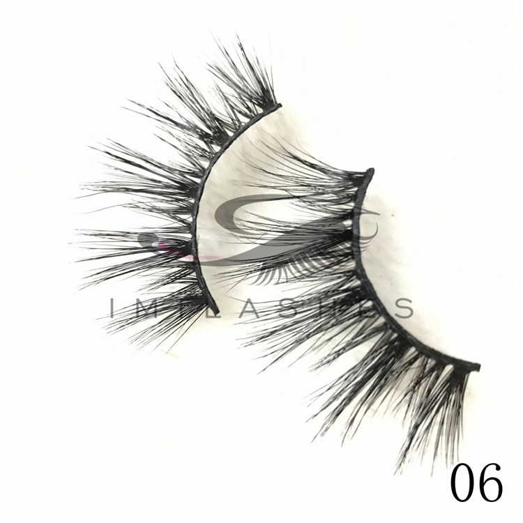 25mm length affordable siberian mink hair lashes