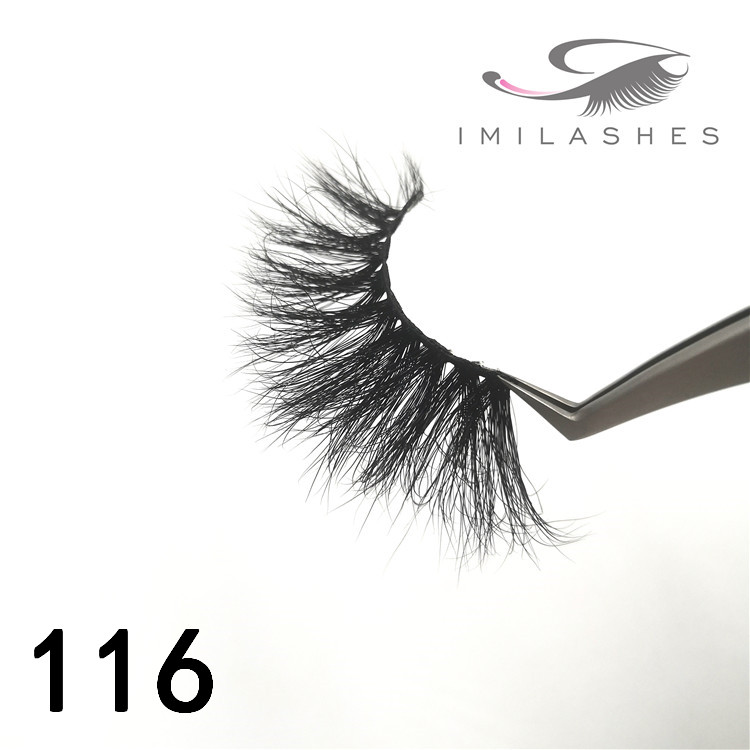 Wholesale 25mm long 5d handmade eyelashes - A