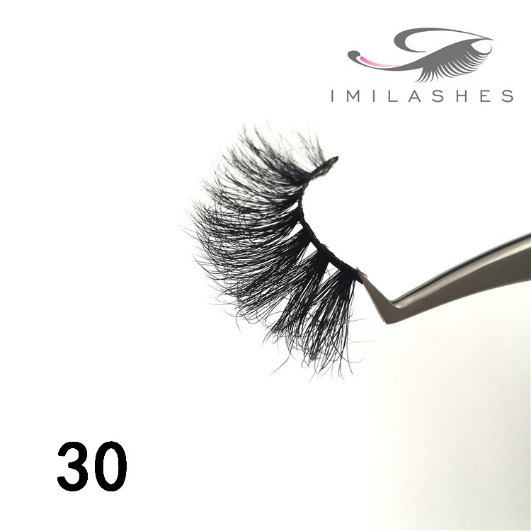 Doll 25mm real mink eyelashes wholesale china - A