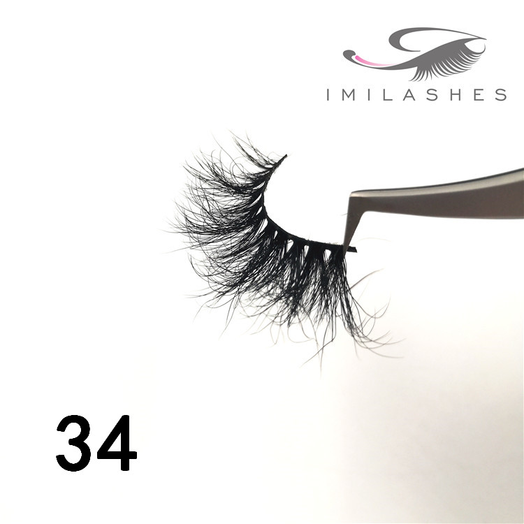 5d 25mm mink lashes factory wholesale - A