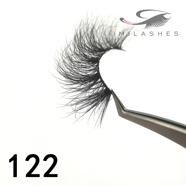 25mm real mink lashes in bulk factory - A