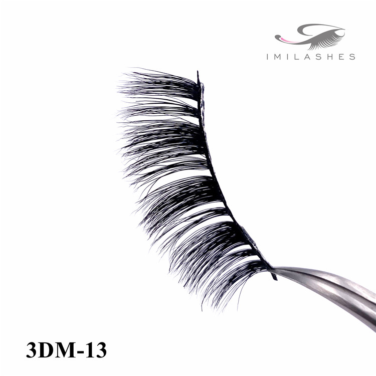 100 3d real mink fake lashes extension vendor - A