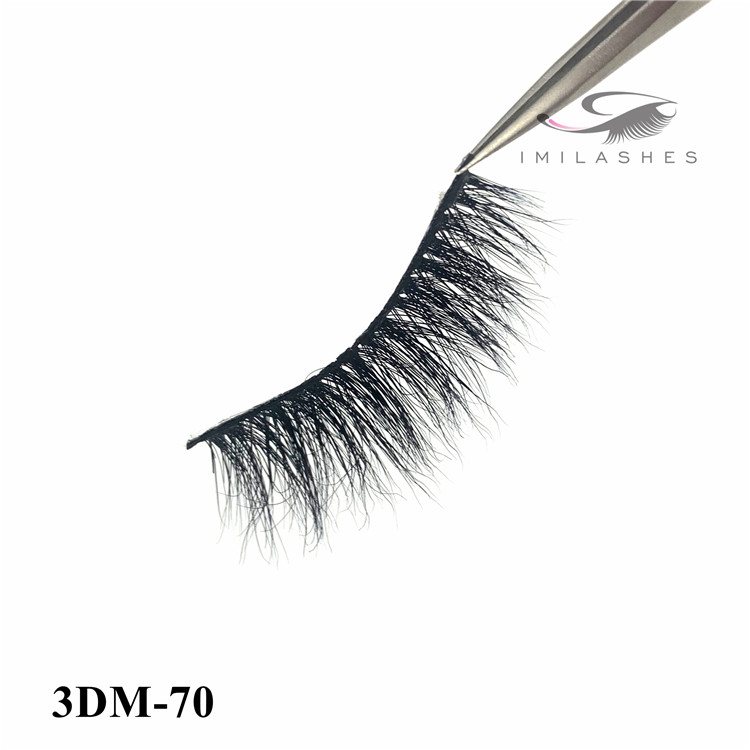 wholesale handmade best natural mink eyelashes - A
