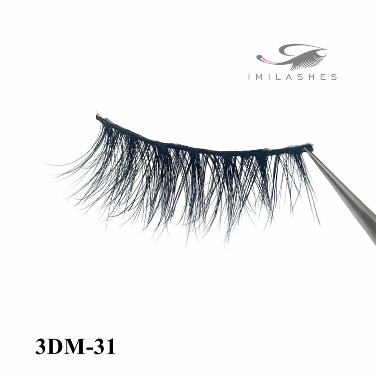Natural 3d real mink lashes wholesale - A