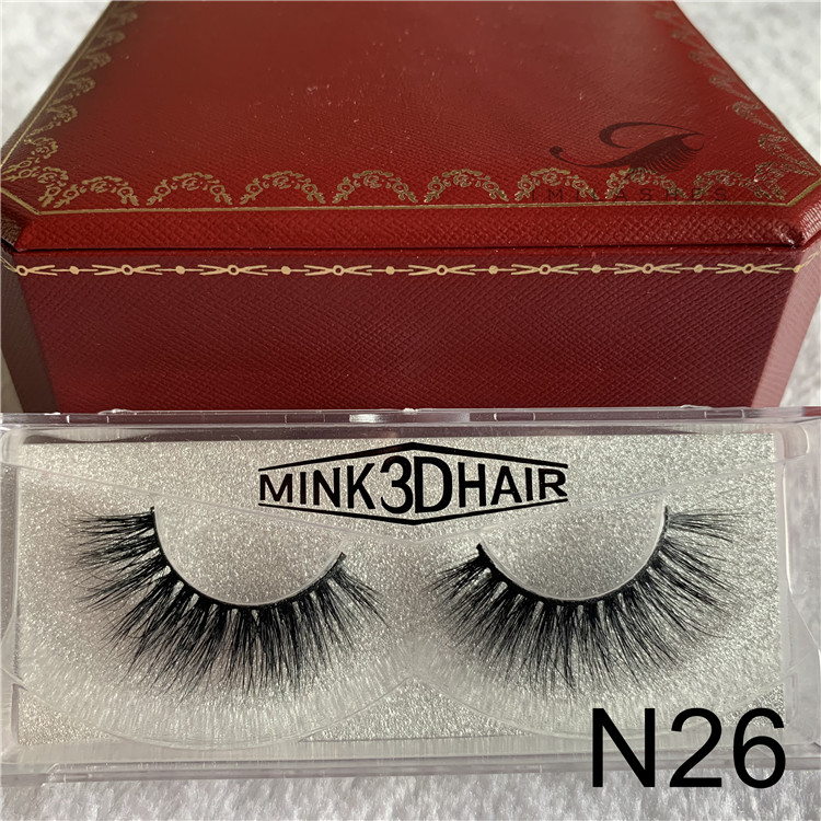 China 3D lashes factory wholesale luxury mink false lashes extensions