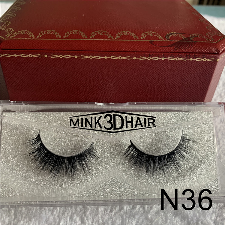 China mink lashes manufacturers wholesale 3D faux mink lashes