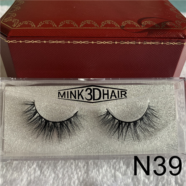 China real mink eyelash extensions supplies wholesale 3D mink eyelashes