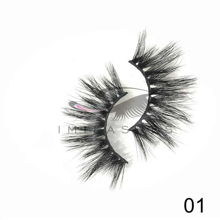 Chinese Vendor Wholesale 25 mm Mink Lashes with 2019 New Style