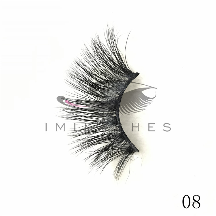 Wholesale 25mm length real mink lashes uk