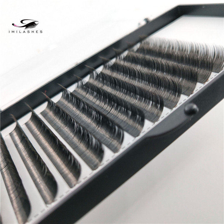 Wholesale ellipse flat eyelash extensions