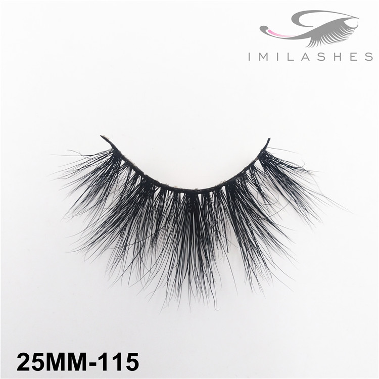 Handmade thick fluffy fake eyelashes wholesale-V