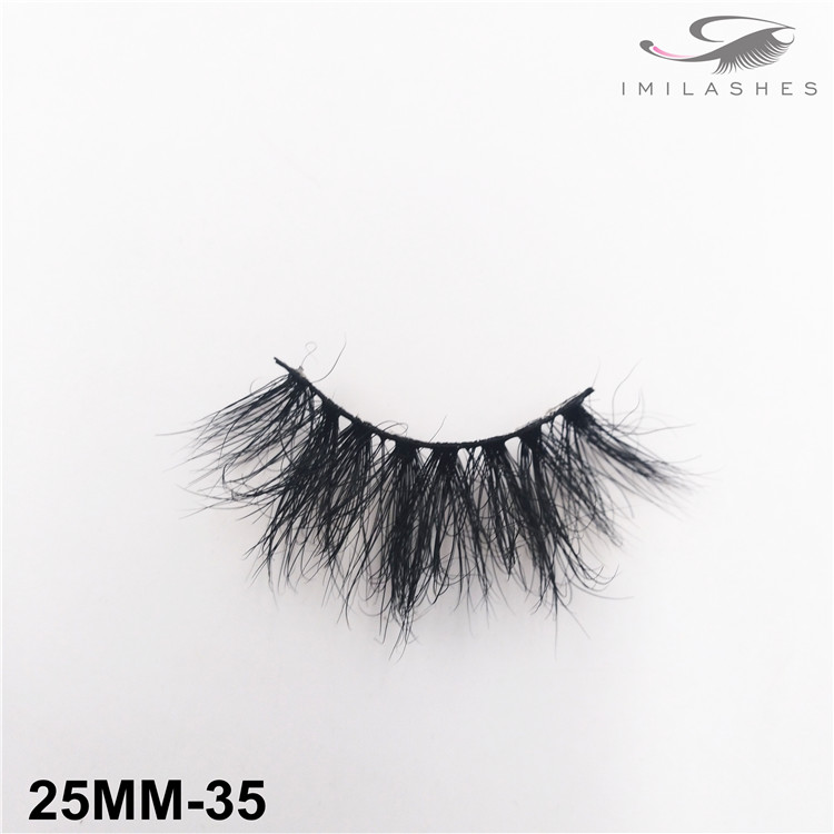 Professional reusable mink lashes wholesale-V