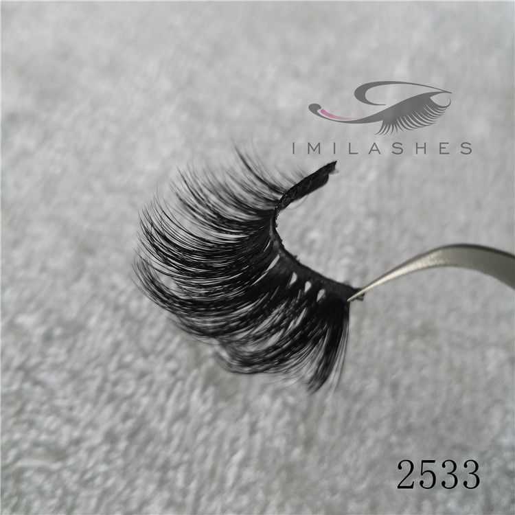 100 real mink 25mm eyelashes Chian wholesale A-33