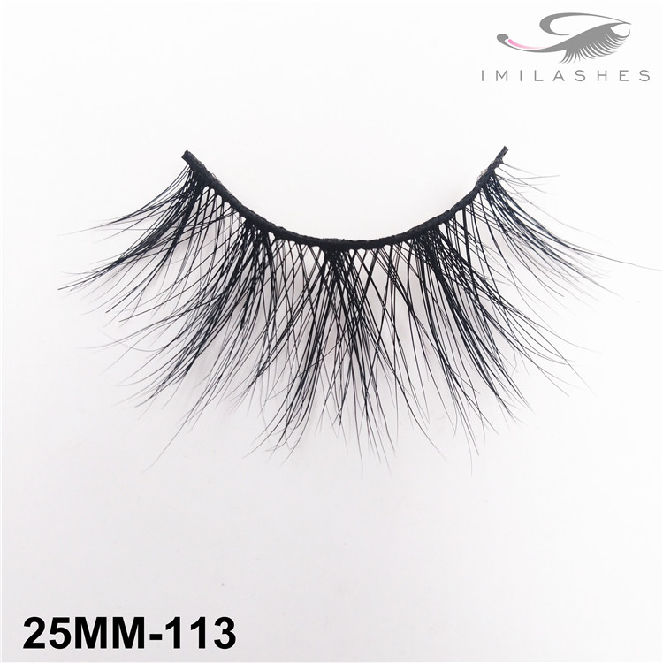 Real mink long type lashes wholesale-V