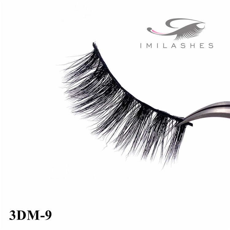 Reusable natural looking fake mink eyelashes - A
