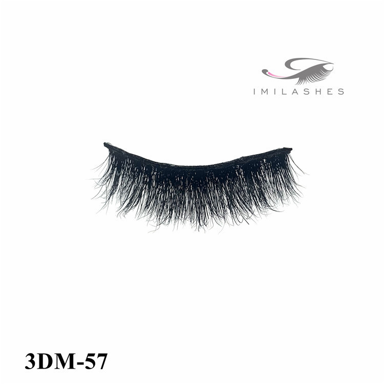 Wholesale hot selling fluffy 3D strip eyelashes factory-L