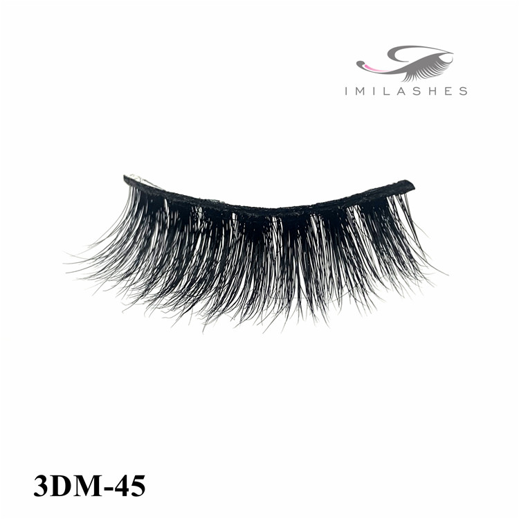 Vegan lashes made from top quality mink fur buying bulk-V