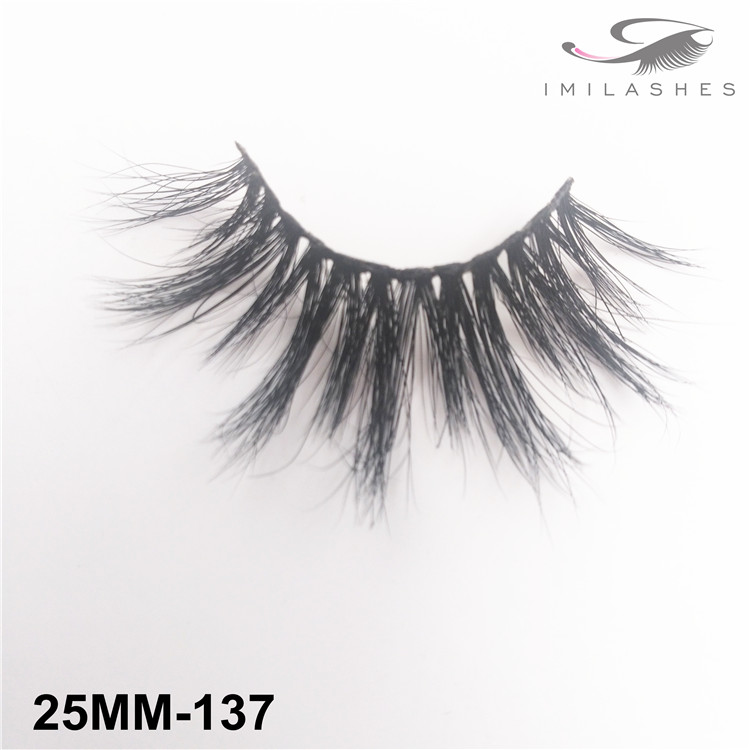Soft reusable fluffy fake lashes vendor-V
