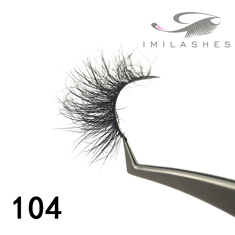 Wholesale top seller 25mm mink lashes factory - A