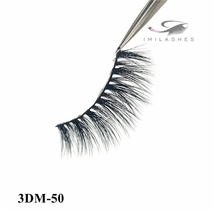 China real hair mink lashes suppliers wholesale - A