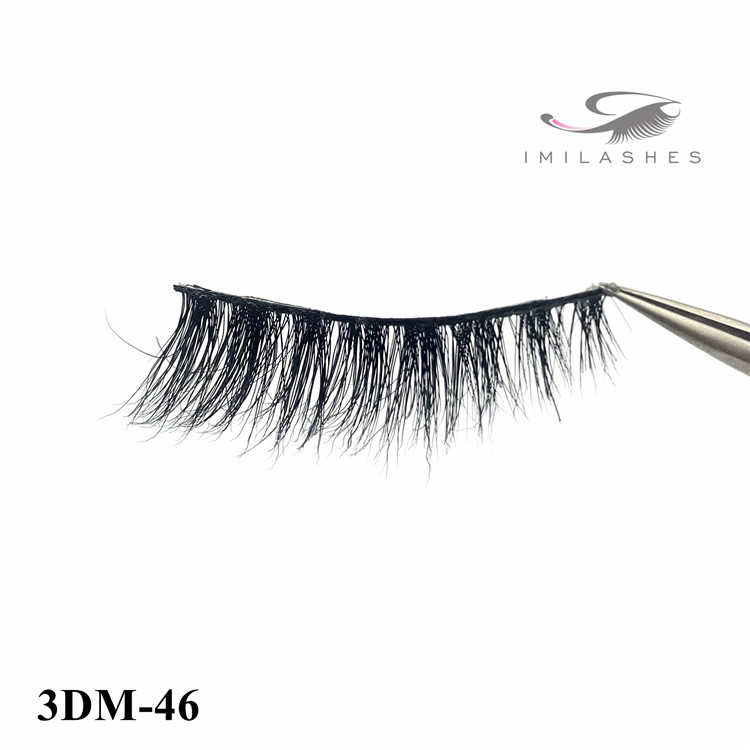 Mink eyelash extensions manufacturers and china real mink lashes-D