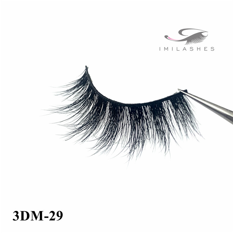 Chinese real mink strip lashes wholesale - A
