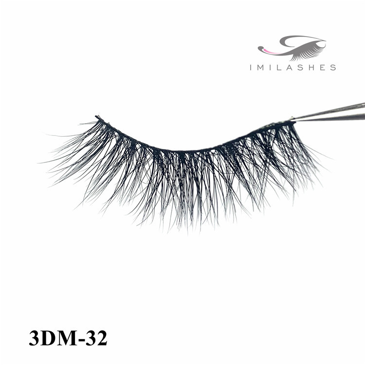 3D mink eyelash extensions for sale and different curl lashes-D
