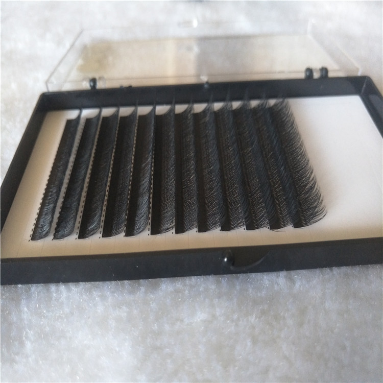 Wholesale High Quality Easy Fanning Eyelashes with 2019 New Style
