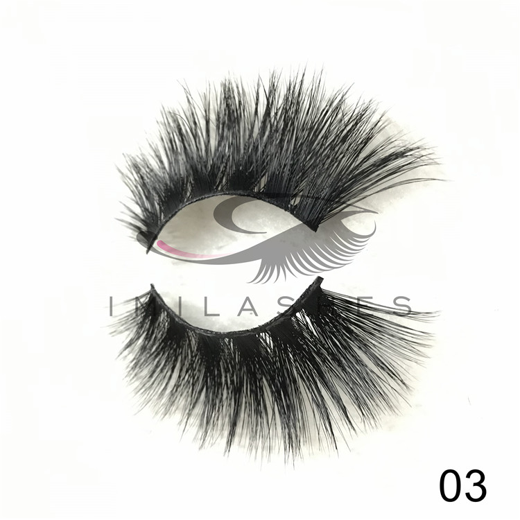 Chinese eyelashes vendor wholesale 25 mm mink eyelashes with unique 2019 style