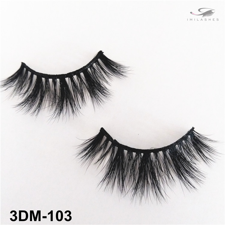 Natural cluster daily type lashes wholesale-V