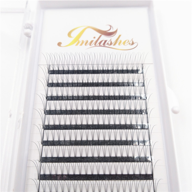 3D Premade volume fans lashes extensions supply-V