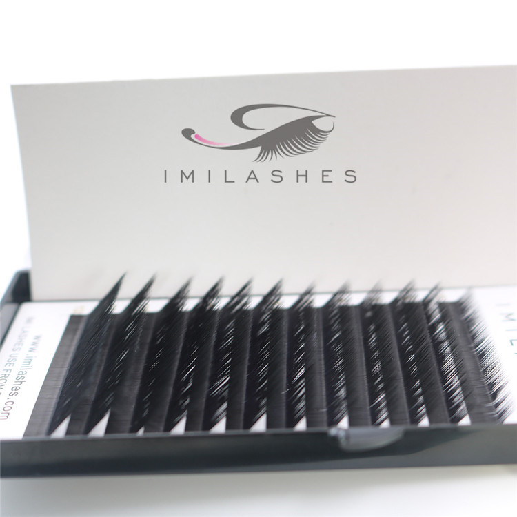 0.07mm L curl 8-15mm mixed individual volume eyelash extensions supplies-V