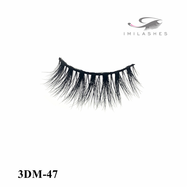 Premium mink lashes with perfect length and sexy full volume wholesale-V