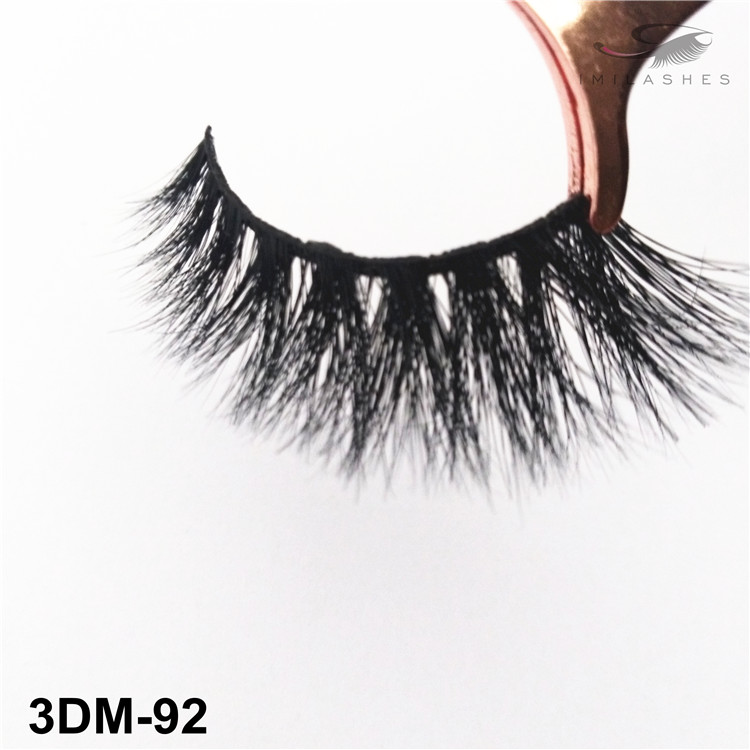 Wholesale natural styles 3D mink lashes-V