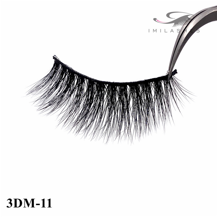 Mink fur eyelashes factory for sale - A