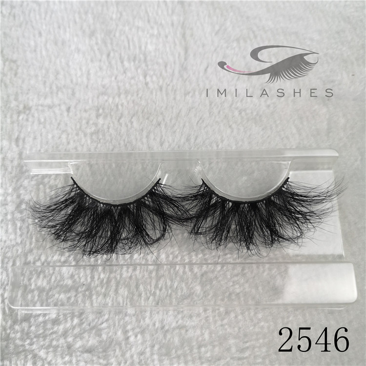 Wholesale real mink 25mm eyelashes false mink lashes A-46