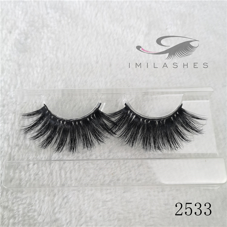 Wholesale high quality 5D mink lashes 25 mm false eyelashes-V