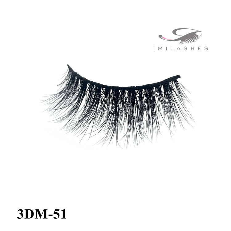 Cruelty free 3d full strip eyelashes synthetic-L