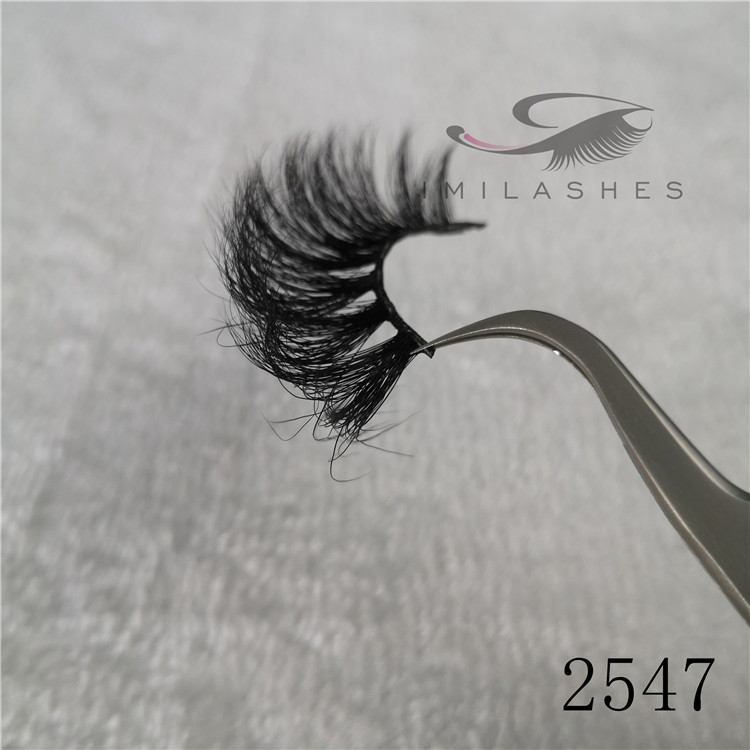 Fluffy long good mink 25mm lashes wholesale china vendor A-47