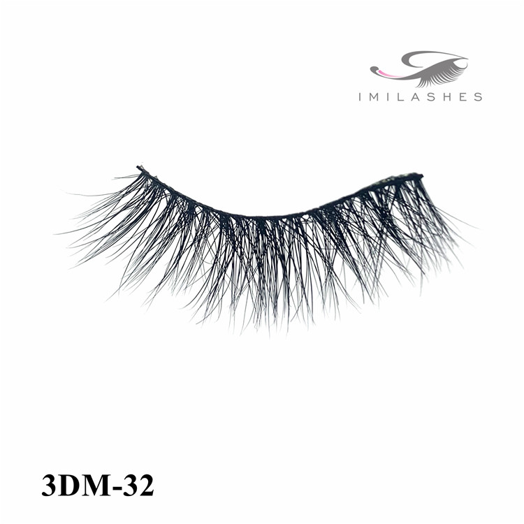 Best gift for women luxurious natural mink lashes wholesale-V