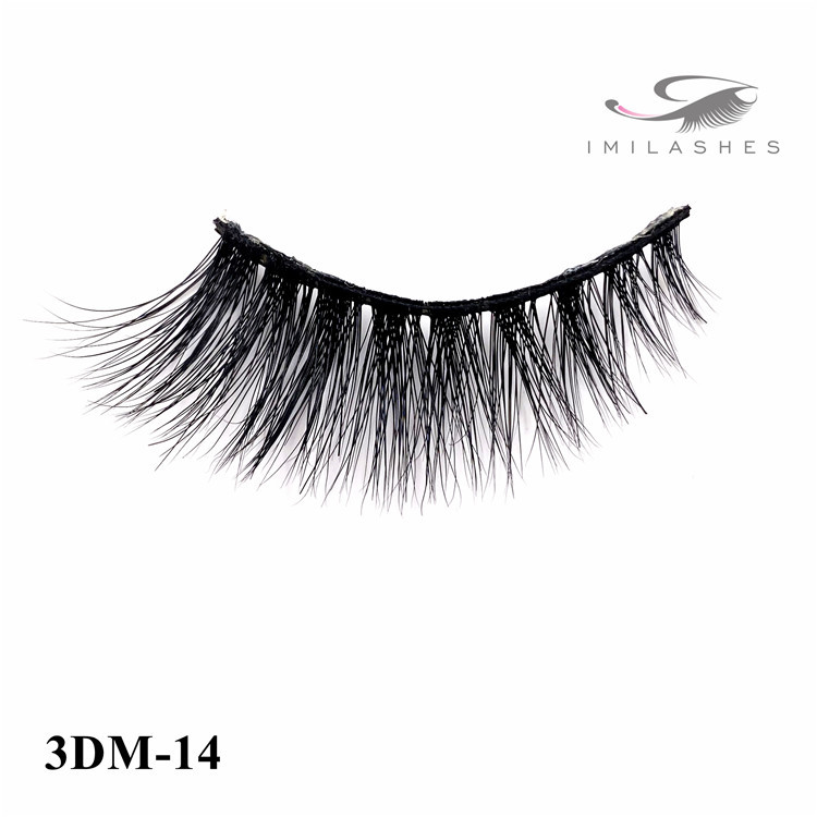 More fluffy thicker and more curled faux lashes wholesale-V
