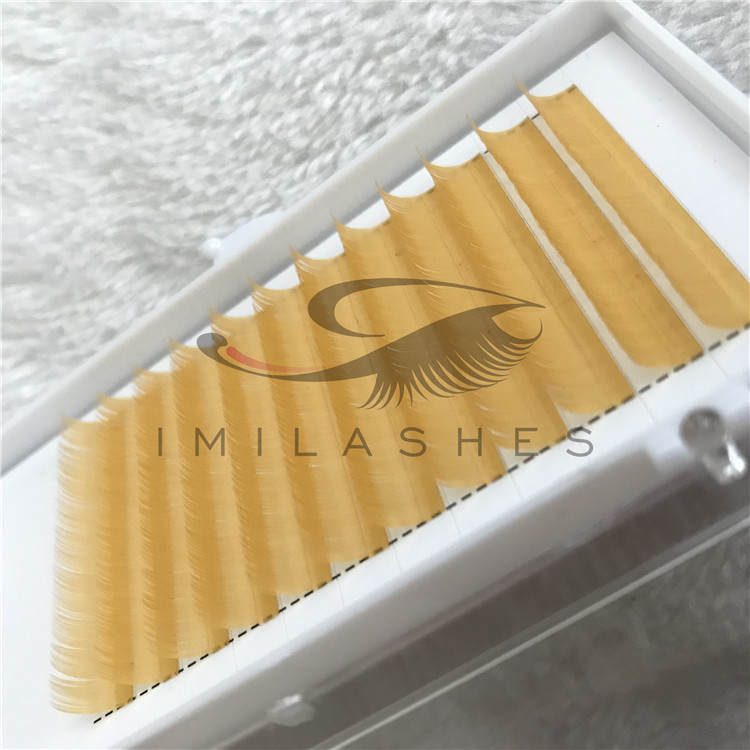 Wholesale 2019 New Colored Flat Individual Eyelashes Extensions in China.jpg