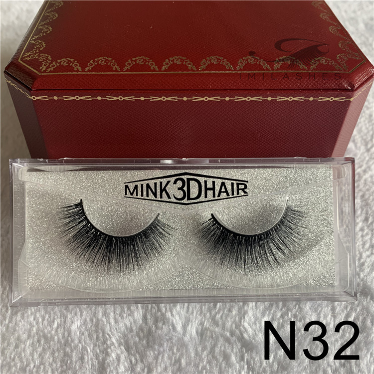 3D mink lashes factory wholesale mink fluffy eyelashes.jpg