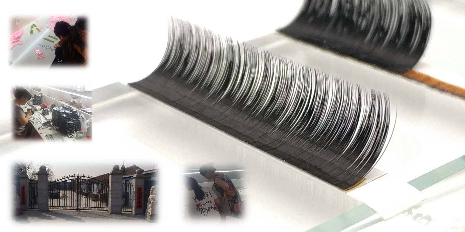 China individual eyelash extensions factory