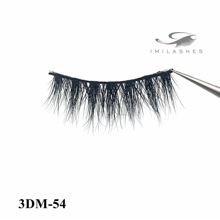 Professional very soft and comfortable mink fake eyelashes supply uk -V