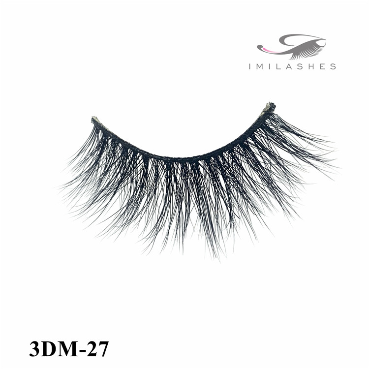 Real Mink luxurious lightweight fake eye lashes wholesale-V