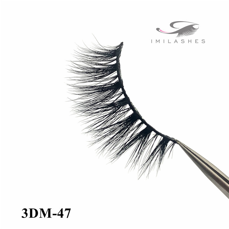 3D mink eyelash and sephora eyelashes-D