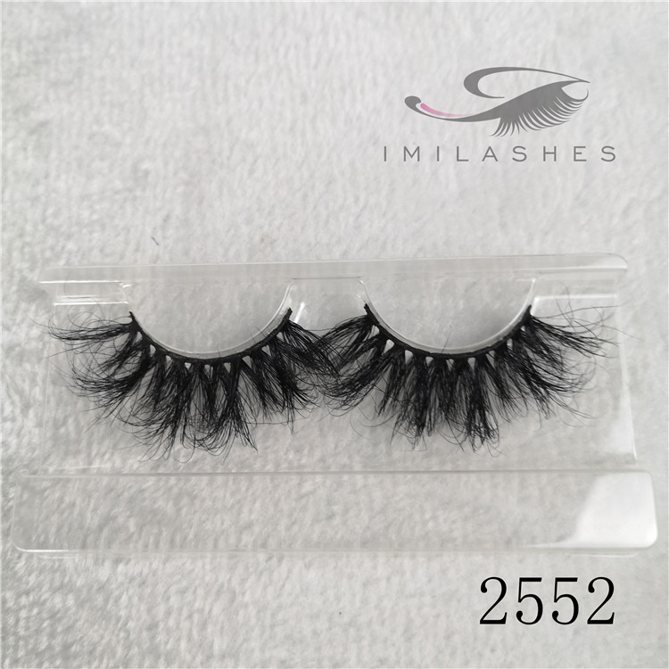 25mm feather 5D mink eyelashes wholesale 25mm feather lashes manufacturers A-52